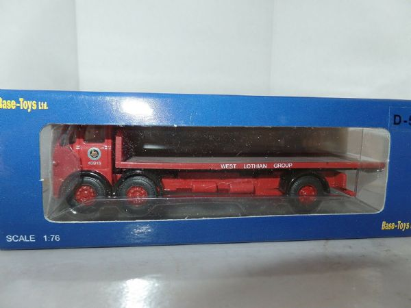B T Models D-53 D53 Leyland Steer Chinese 6 Artic Flatbed BRS West Lothian